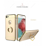 Gold Luxury Metal Ring Holder iPhone Case